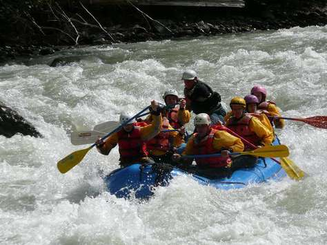 River Rafting with Wild & Scenic