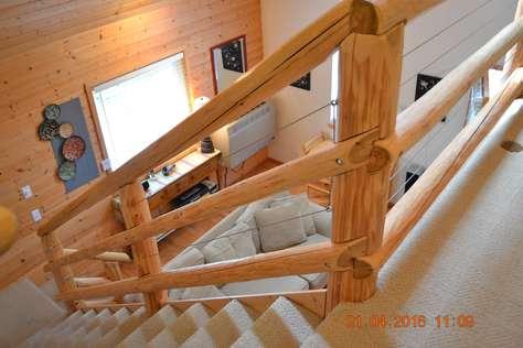 Log Stairwell
