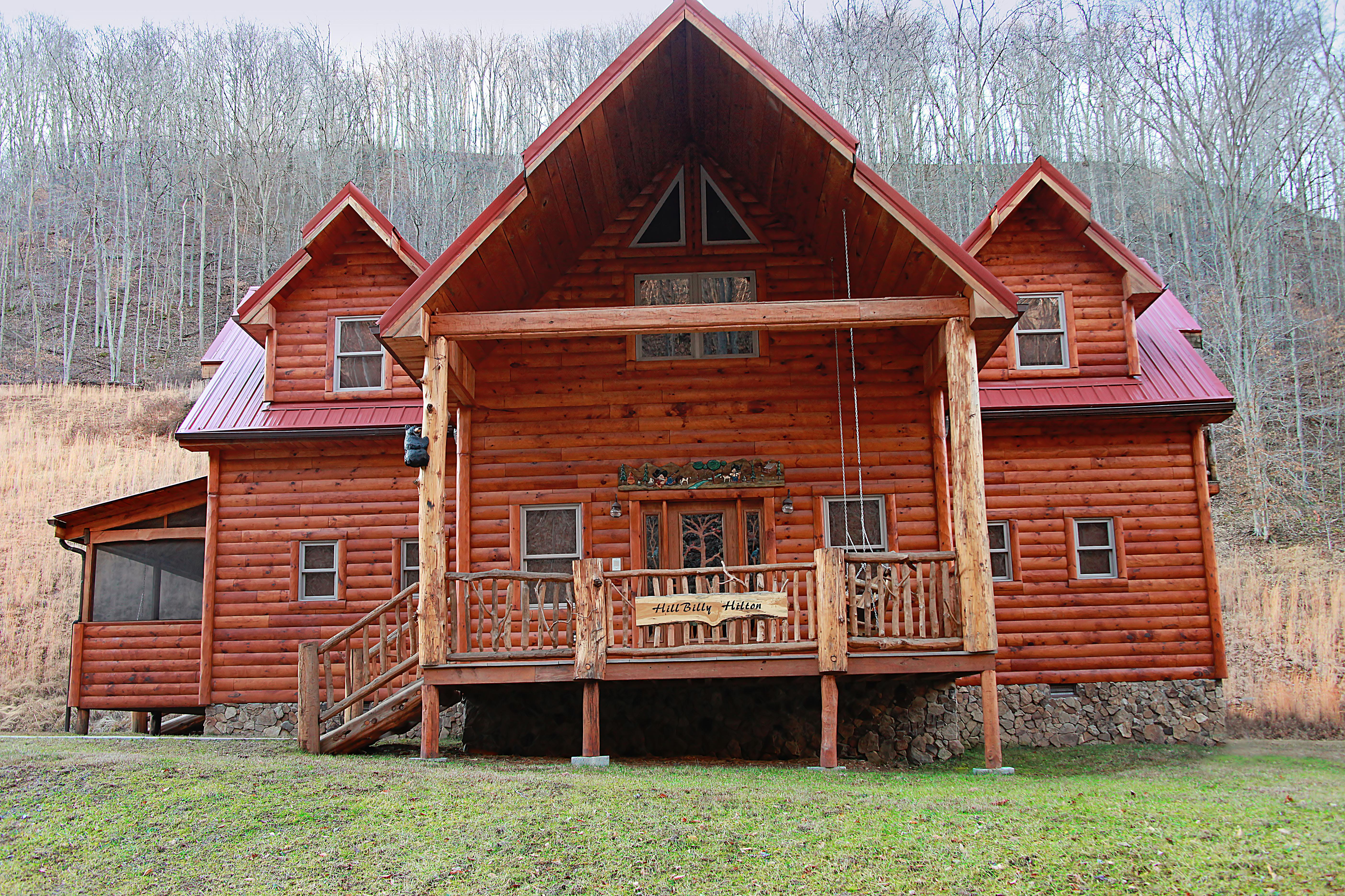 in wv with rhododendron hot riverside historic elkins tub log cabins cabin