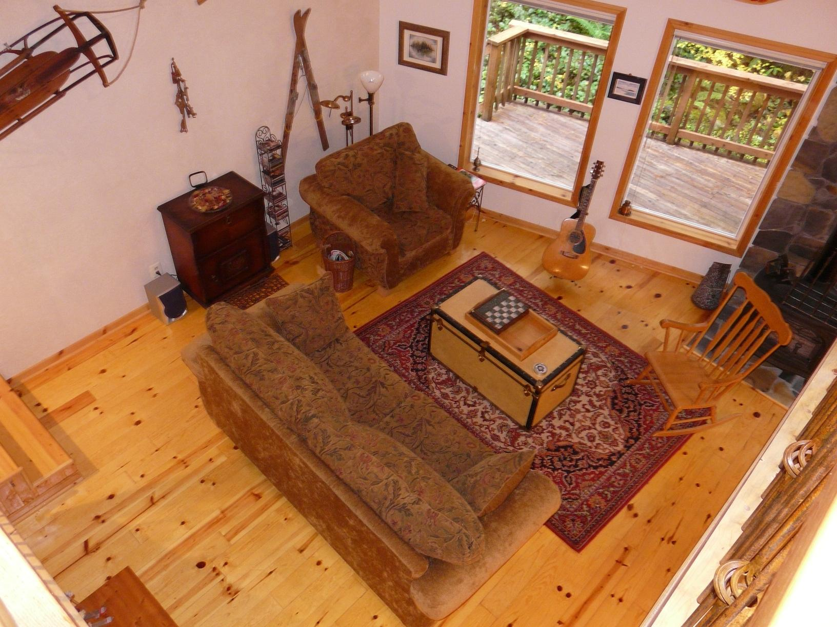 Living Area from the Loft