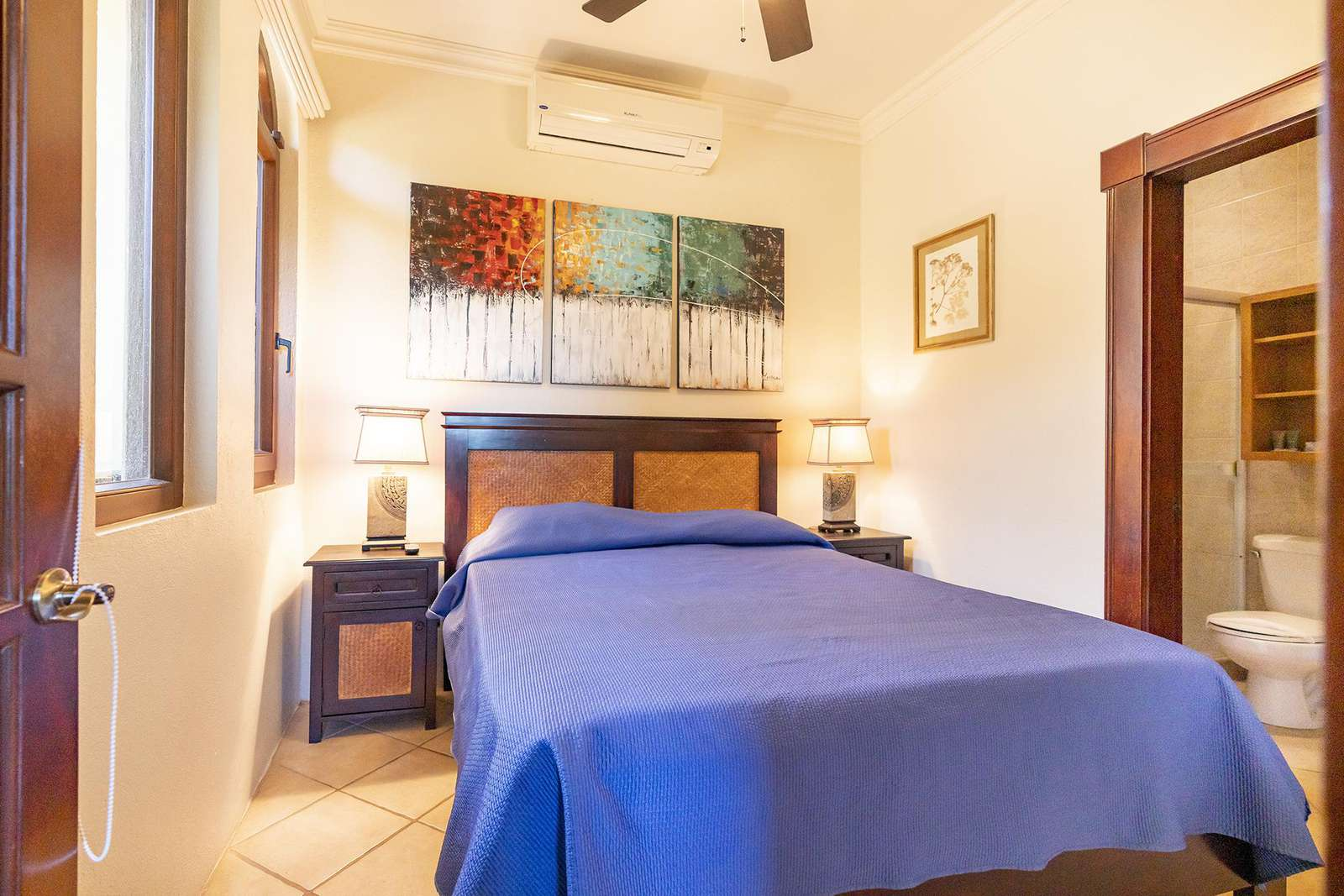 Separate 1 Bedroom guest apartment, Queen bed, full bathroom, full kitchen, full size sleeper sofa