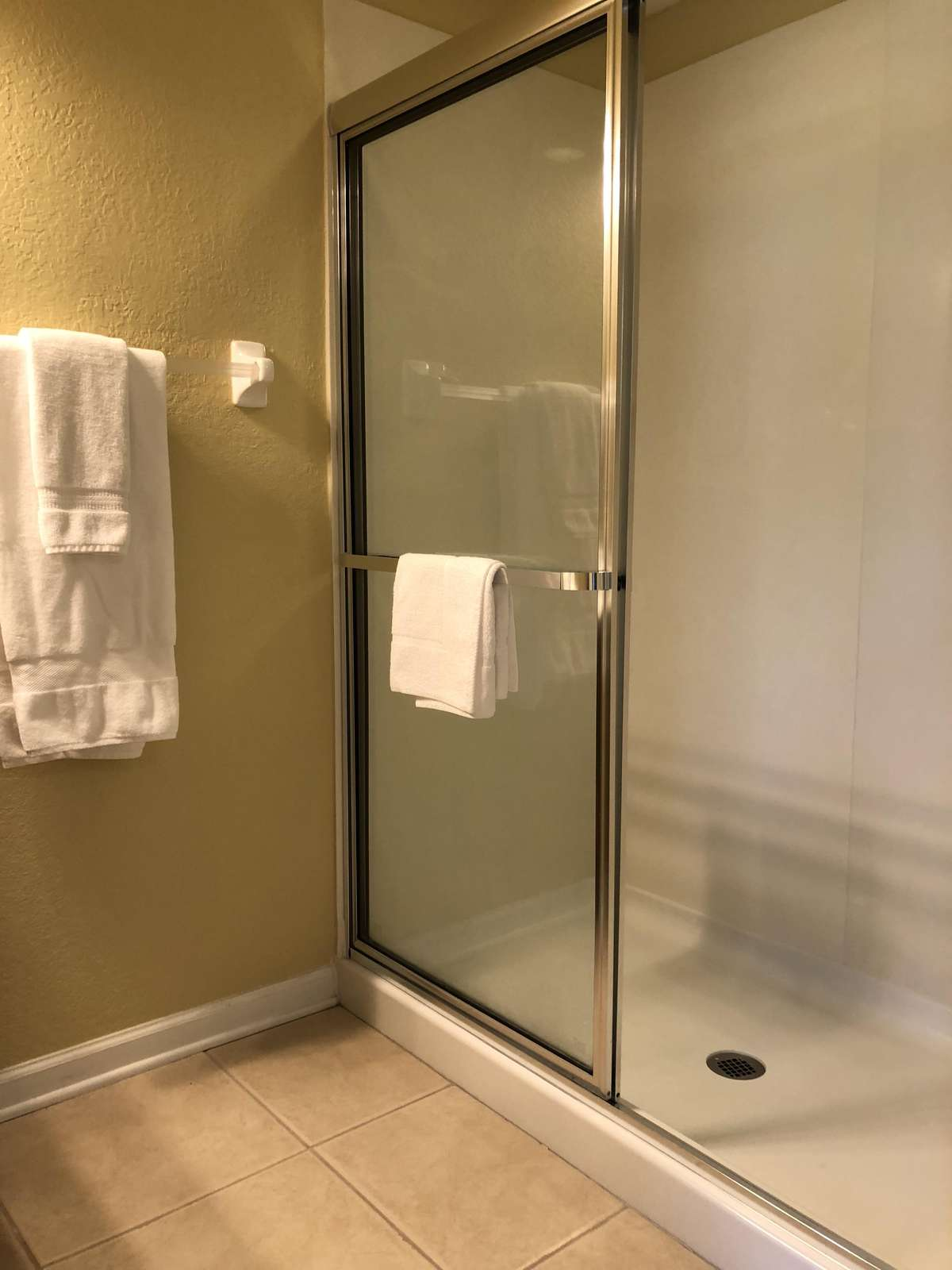 Shower first floor bathoom