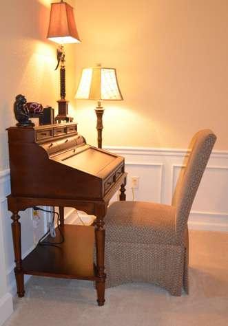 Desk and Chair - High speed Wireless Internet