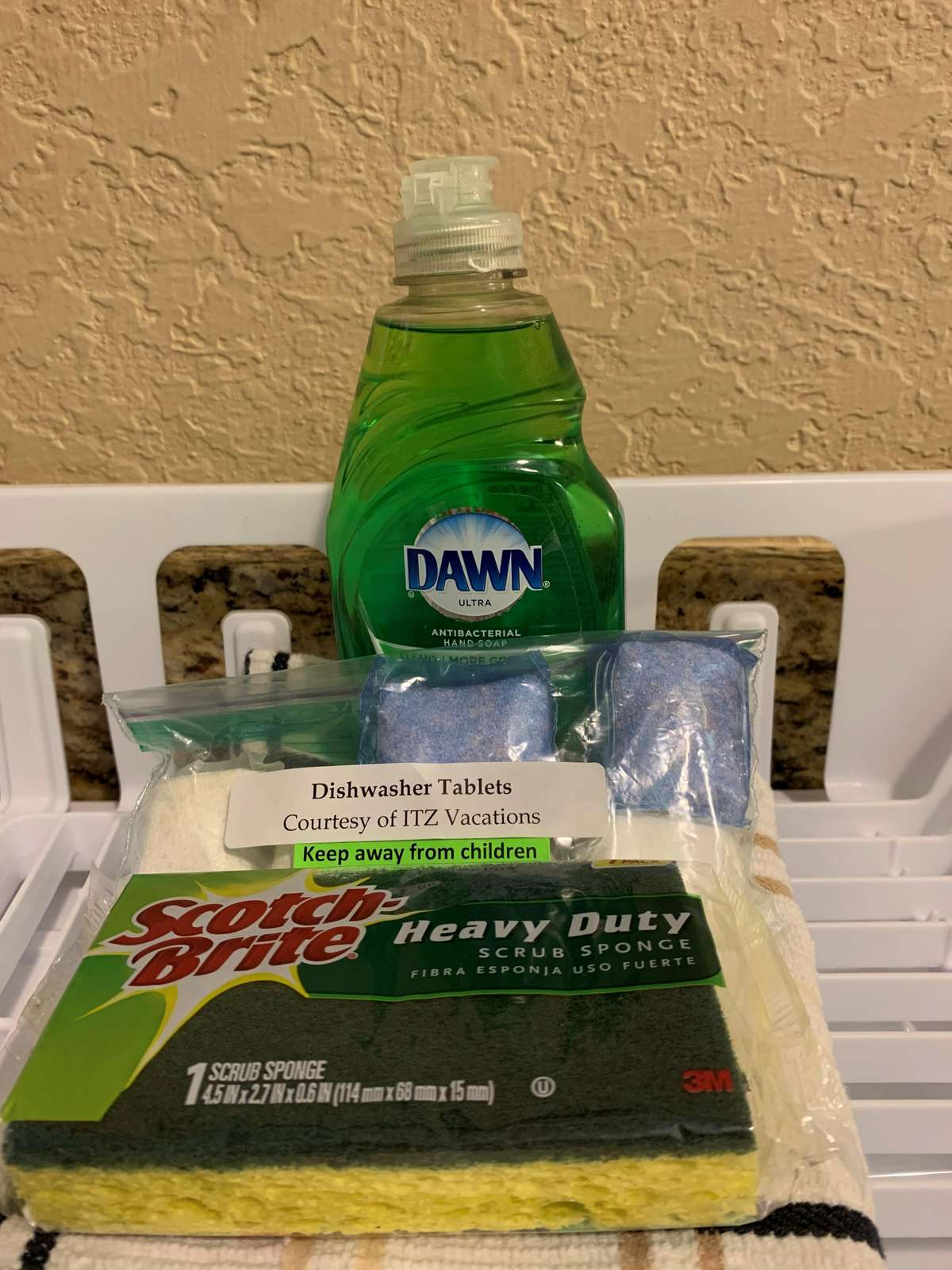 Dish washing starter kit