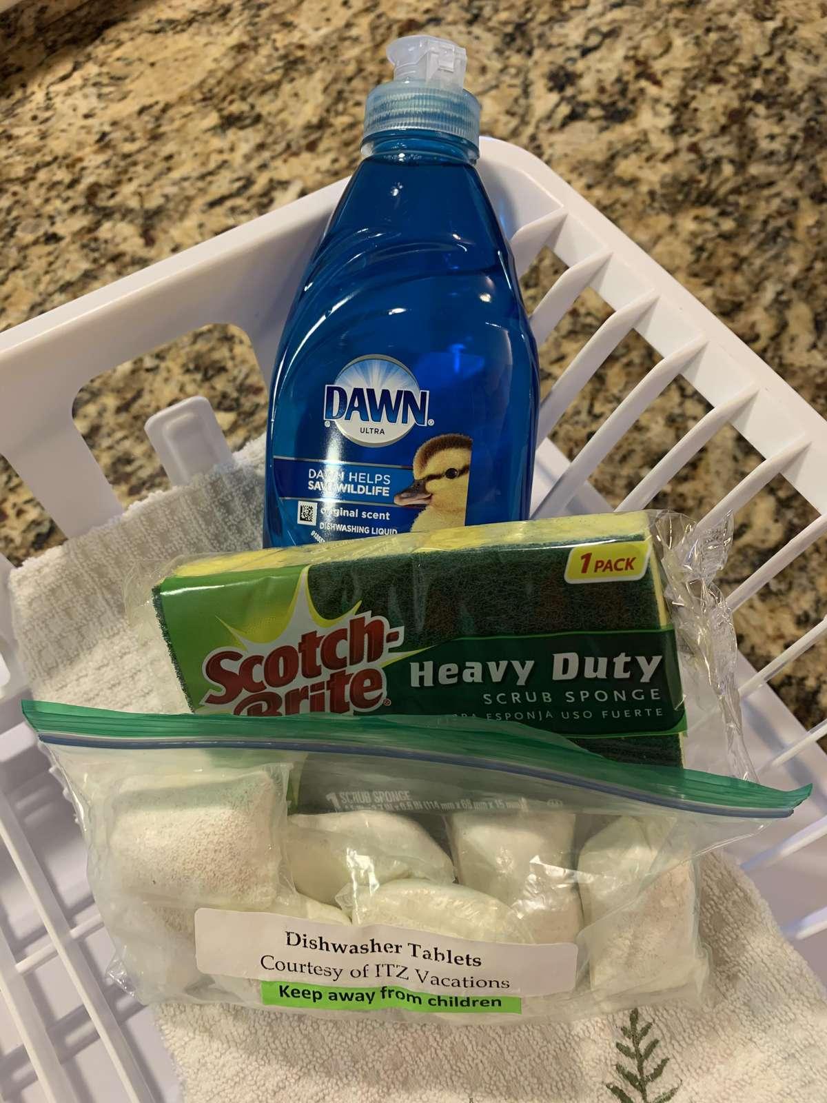 Dish washing starter kit