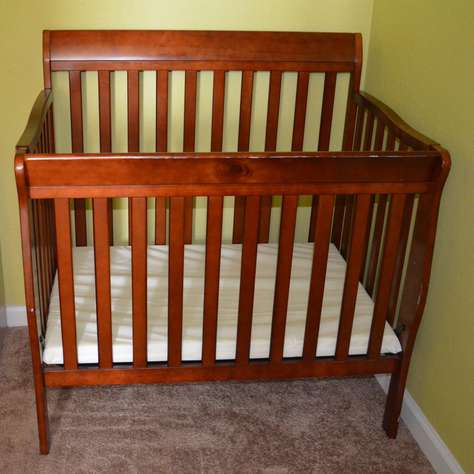 Crib available at the unit at no extra cost