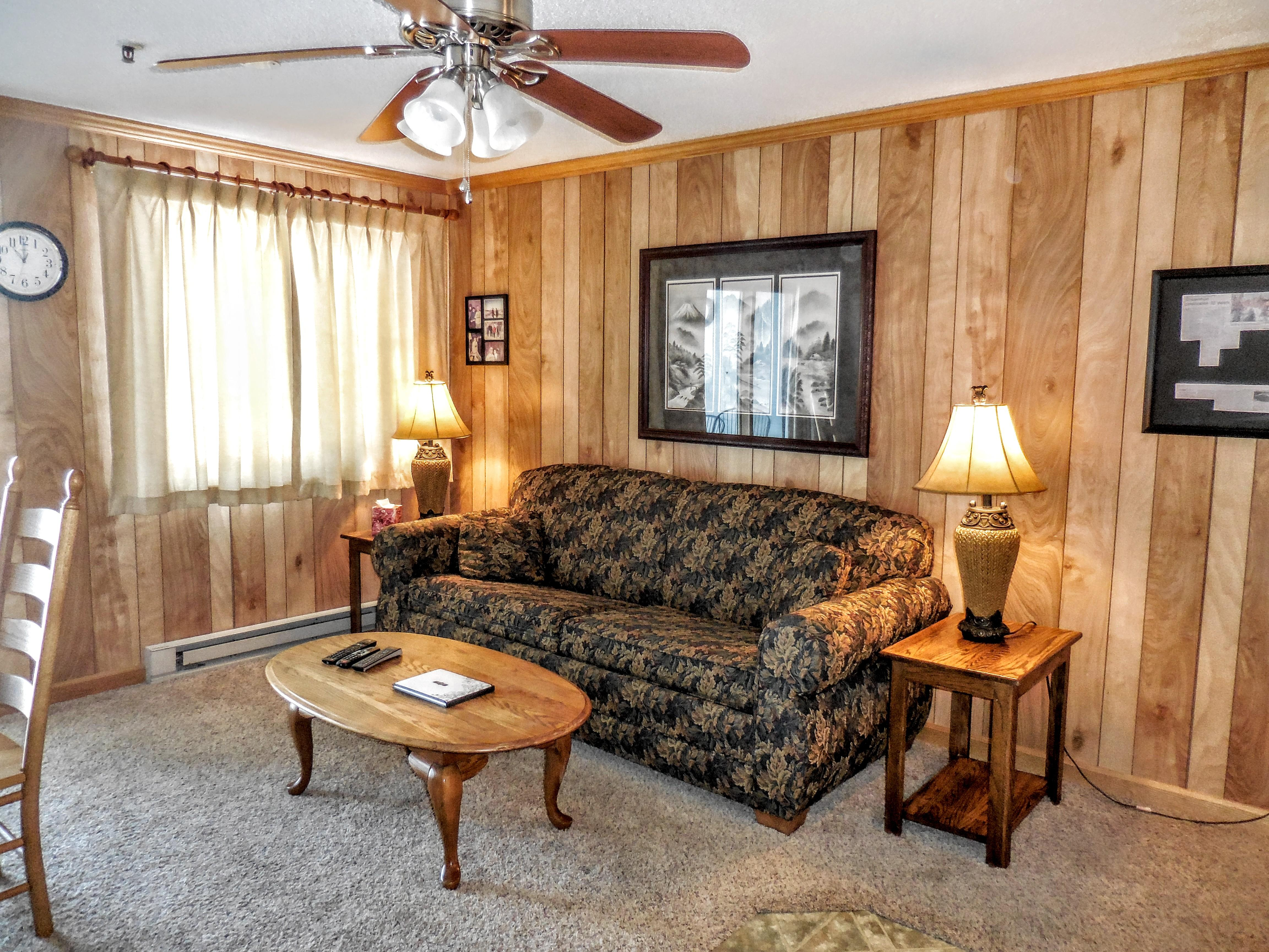 ML234 is a clean and cozy slope-side condo!