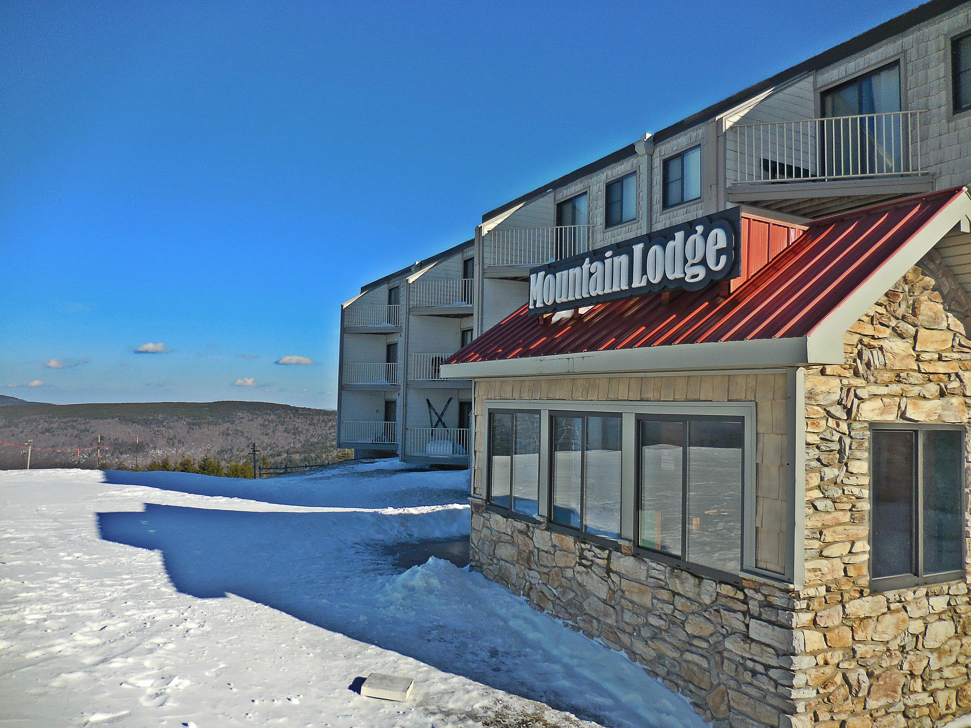 Our back door leads directly to the slopes!