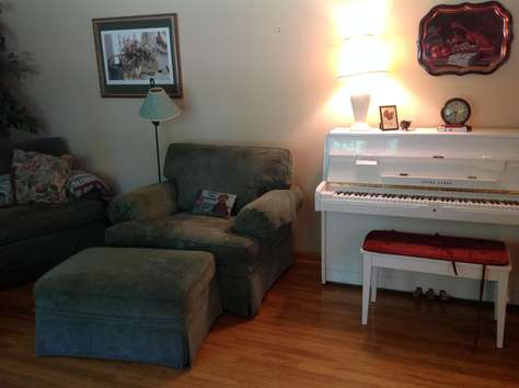 Piano availalble for sing-a-longs