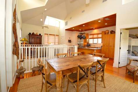Living/Dining/Kitchen Area - Great space for family fun! Bunk Room located off dining area.
