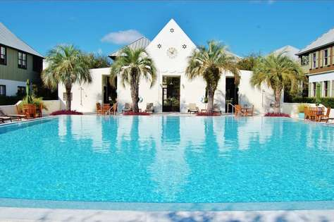 One of Rosemary Beach's Community Pools - this is the Coquina Pool