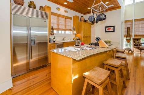 Wonderful kitchen opens to living/dining area for family togetherness!