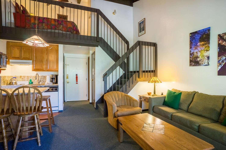 Living Area + Loft