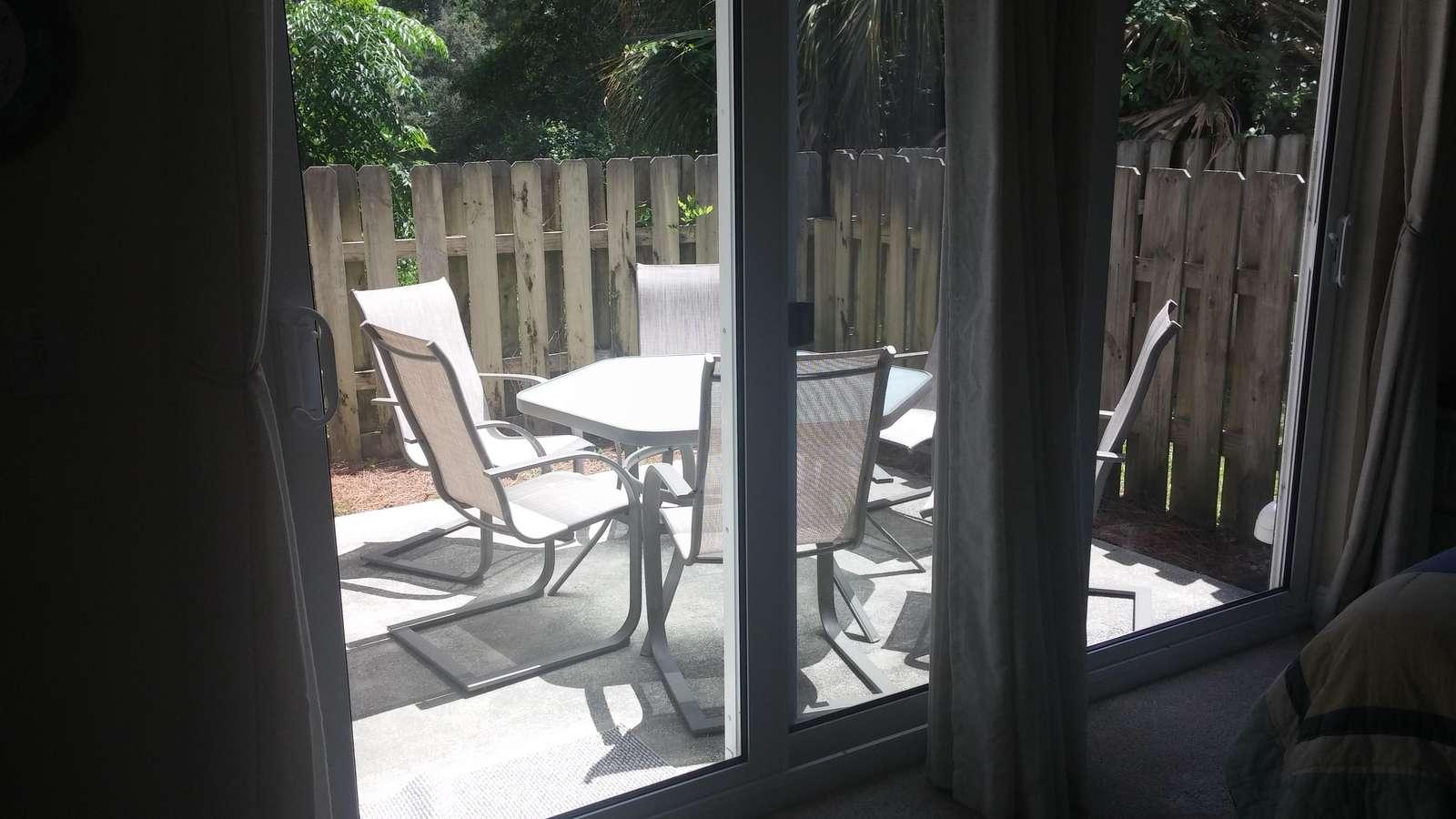 1st level patio