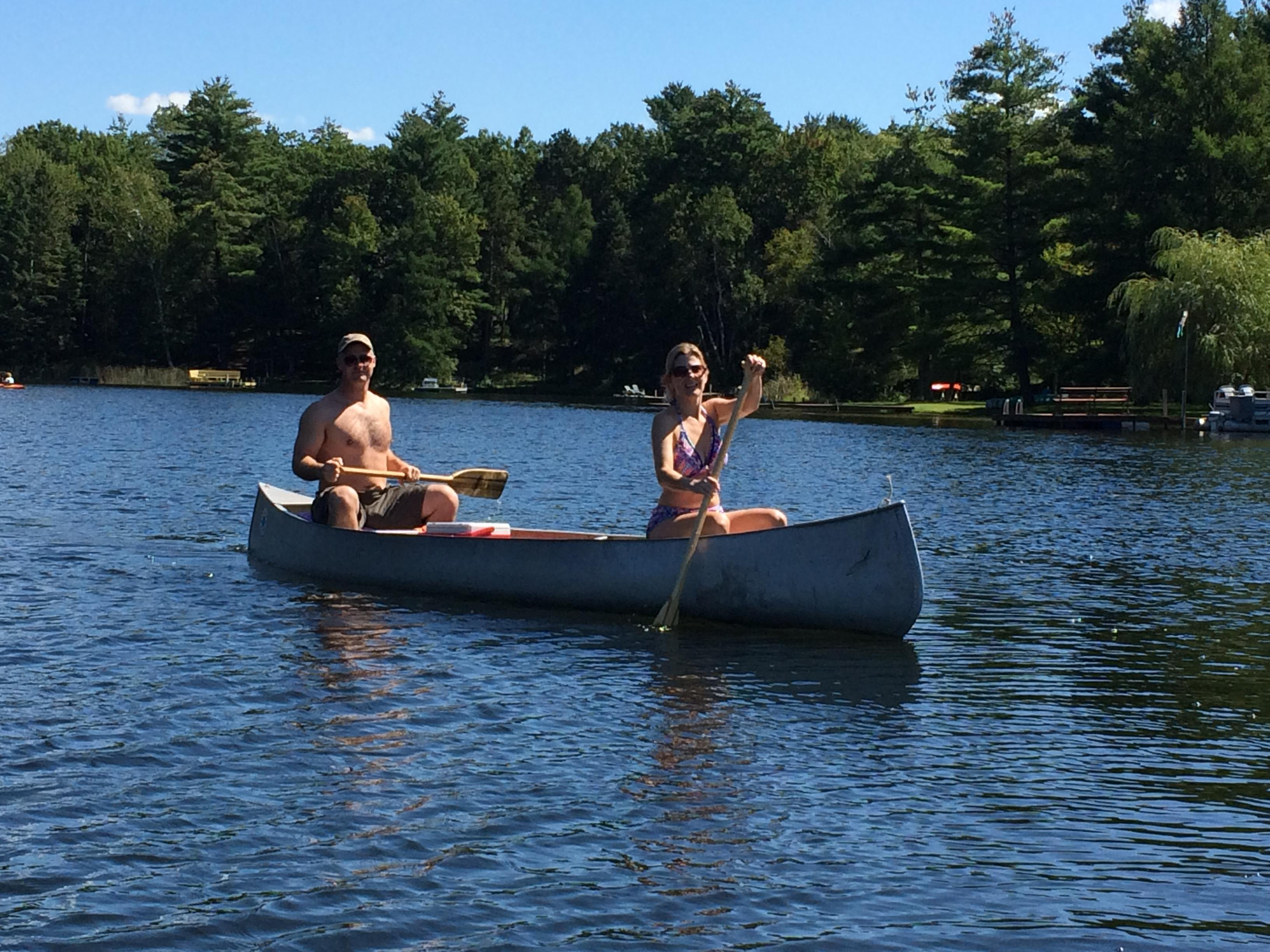 cottage canoes