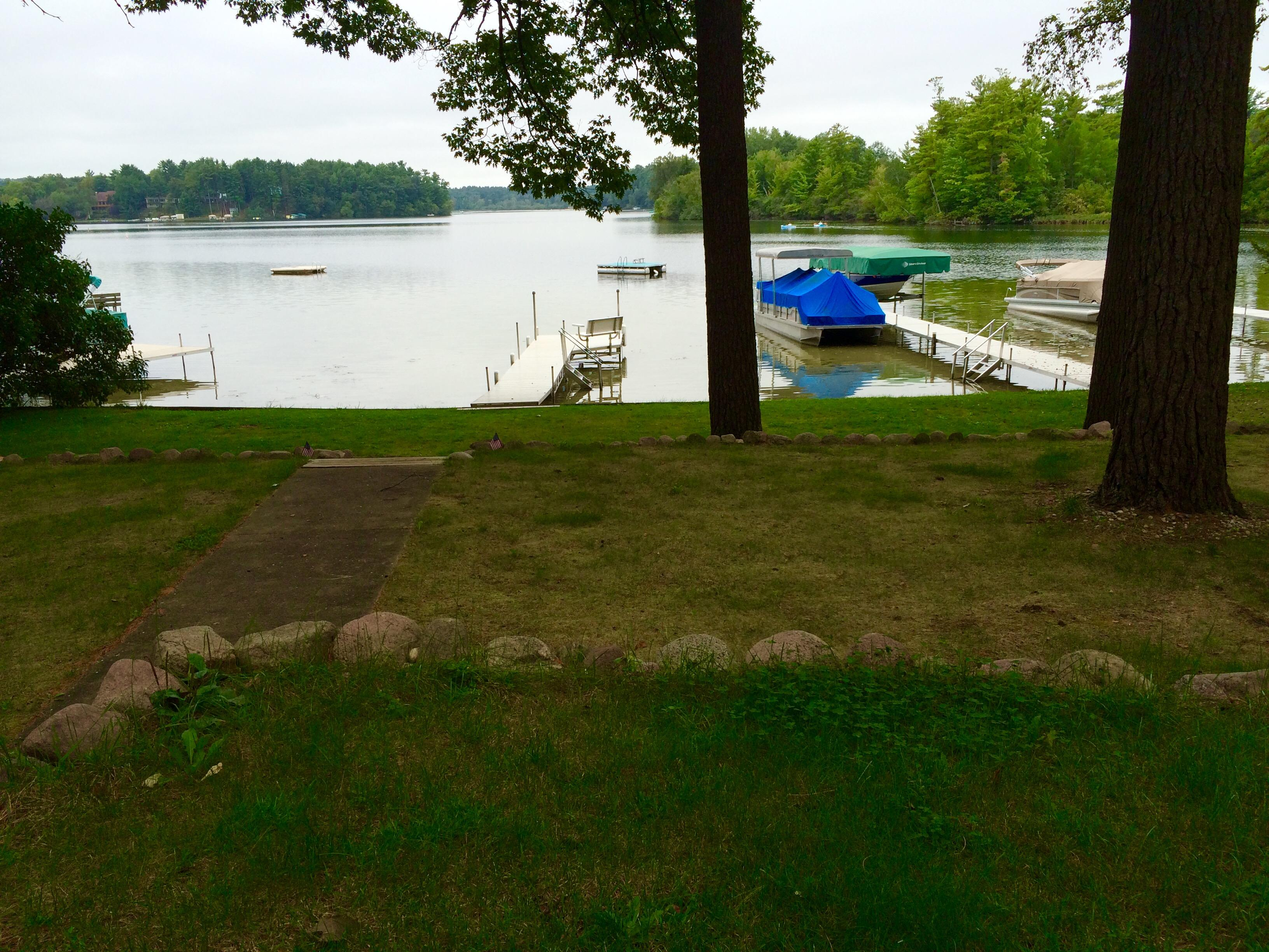 Green cottage dock