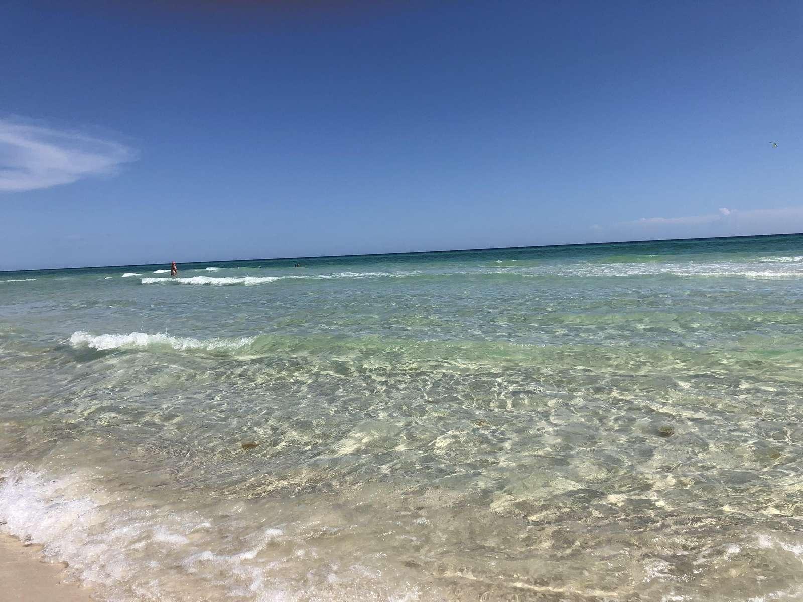 Ocean behind the Opulent Pearl