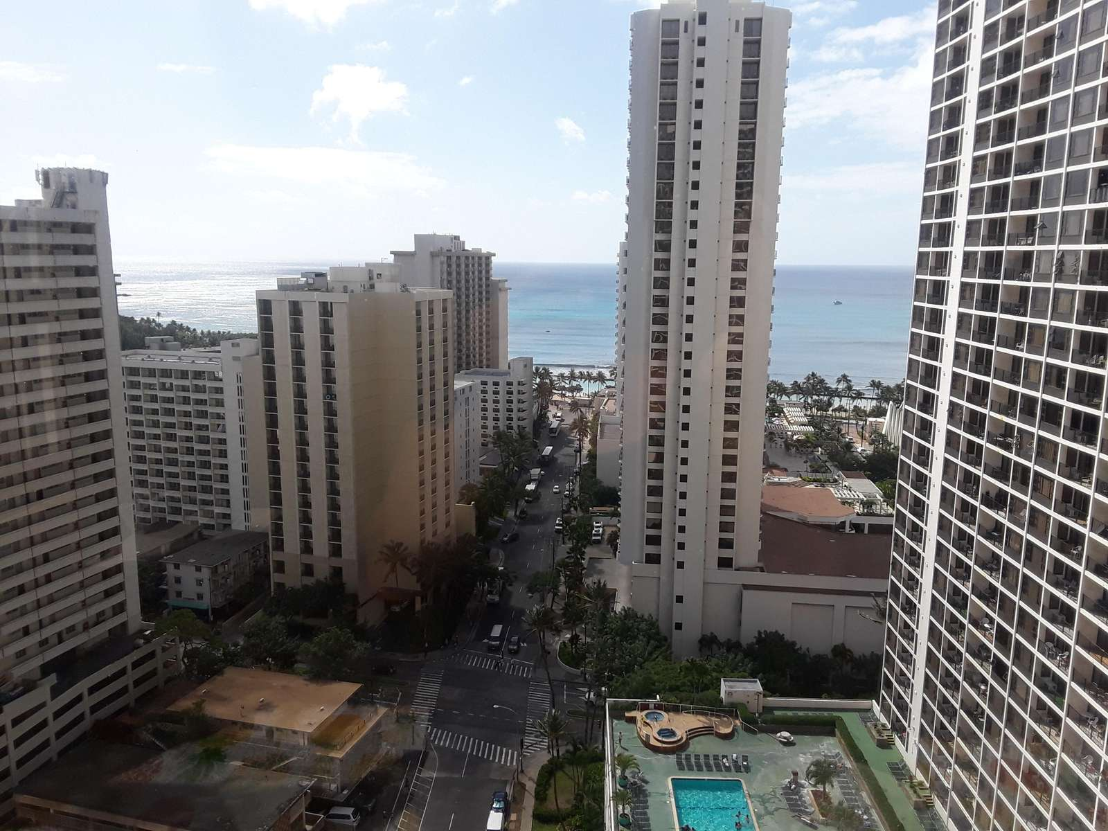 the view from the lanai