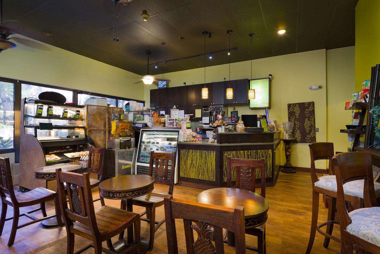 coffee shop located near lobby