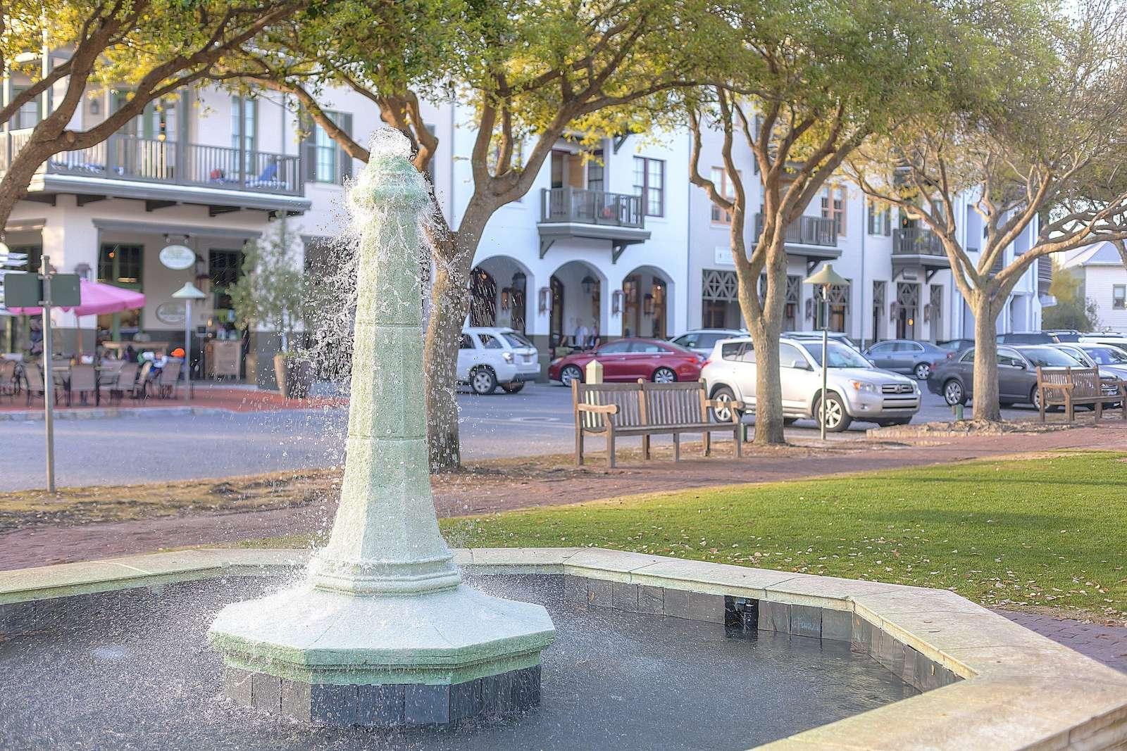 Barrett Square Fountain