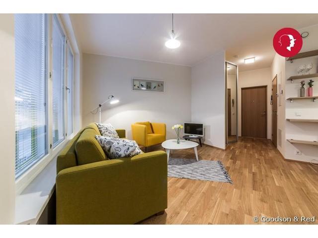 Modern Studio Apartment in Veerenni District