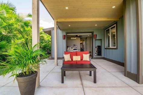 Private deck for Beach Villa Master Bedroom