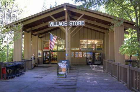 The Village Store in Yosemite Valley.