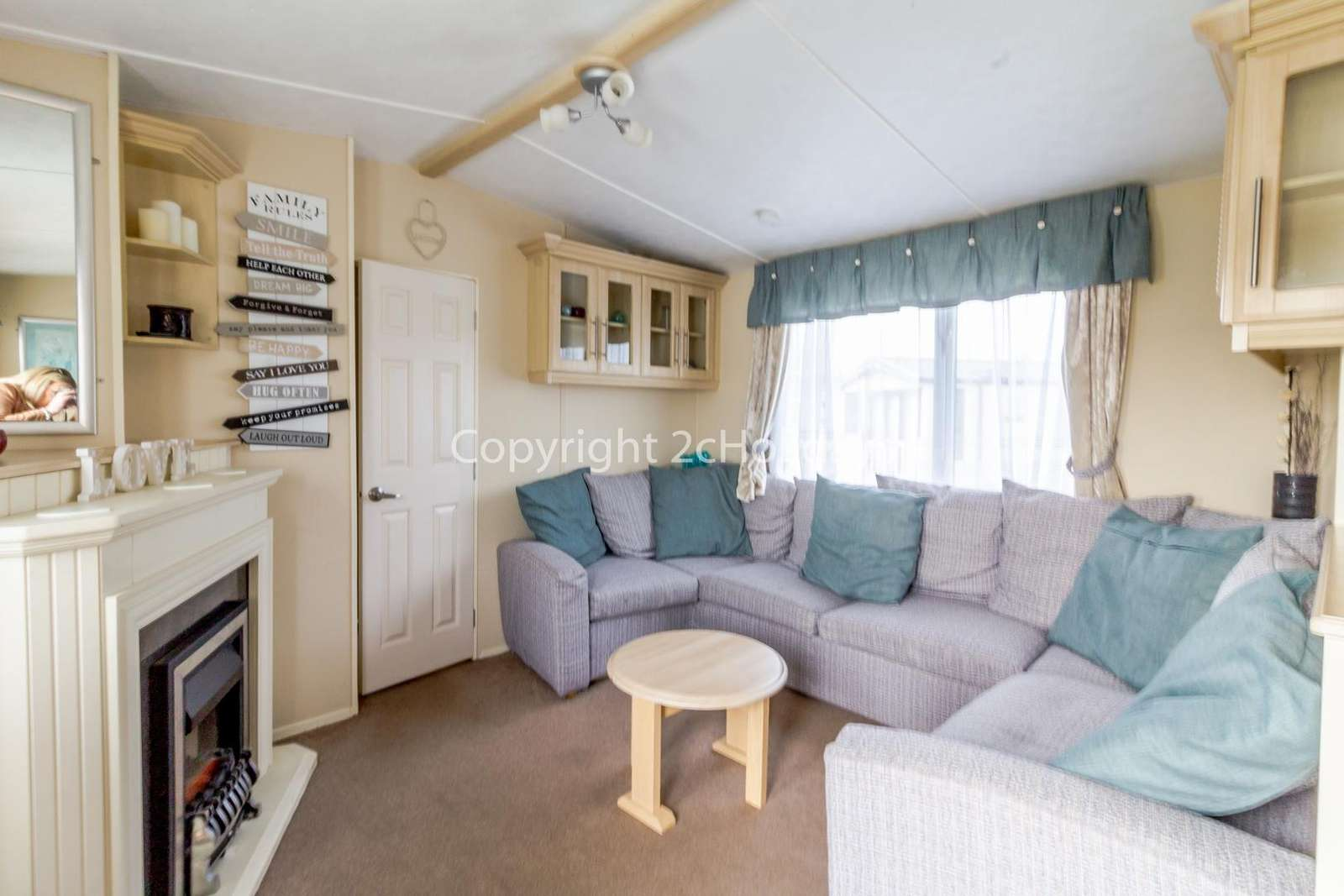 Spacious and homely lounge, a great place for families