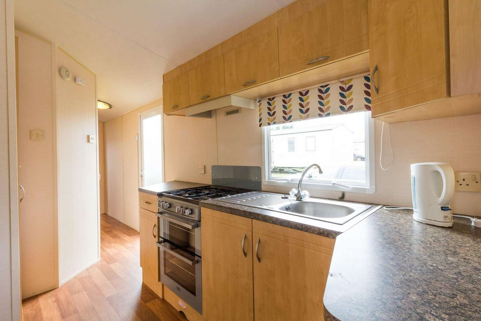 A well equipped kitchen, perfect for self-catering holidays!
