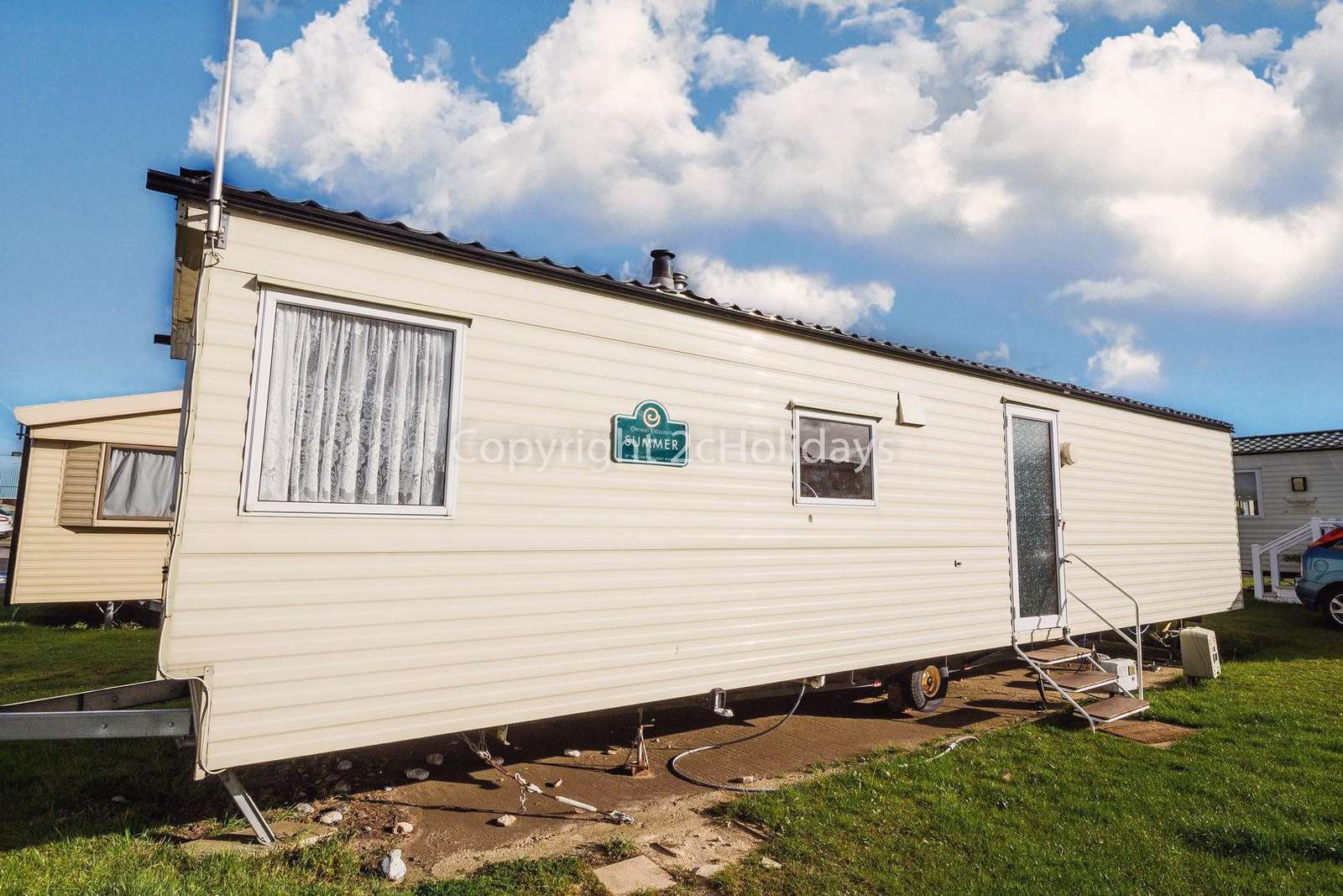 8 berth accommodation at Seashore Holiday Park