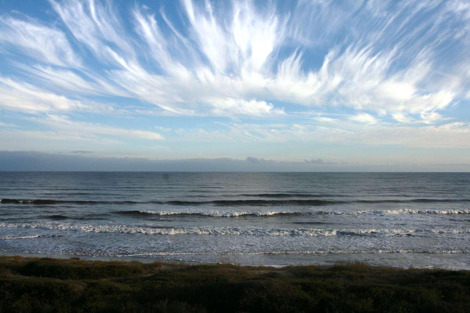 Cloud Art at Kiawah