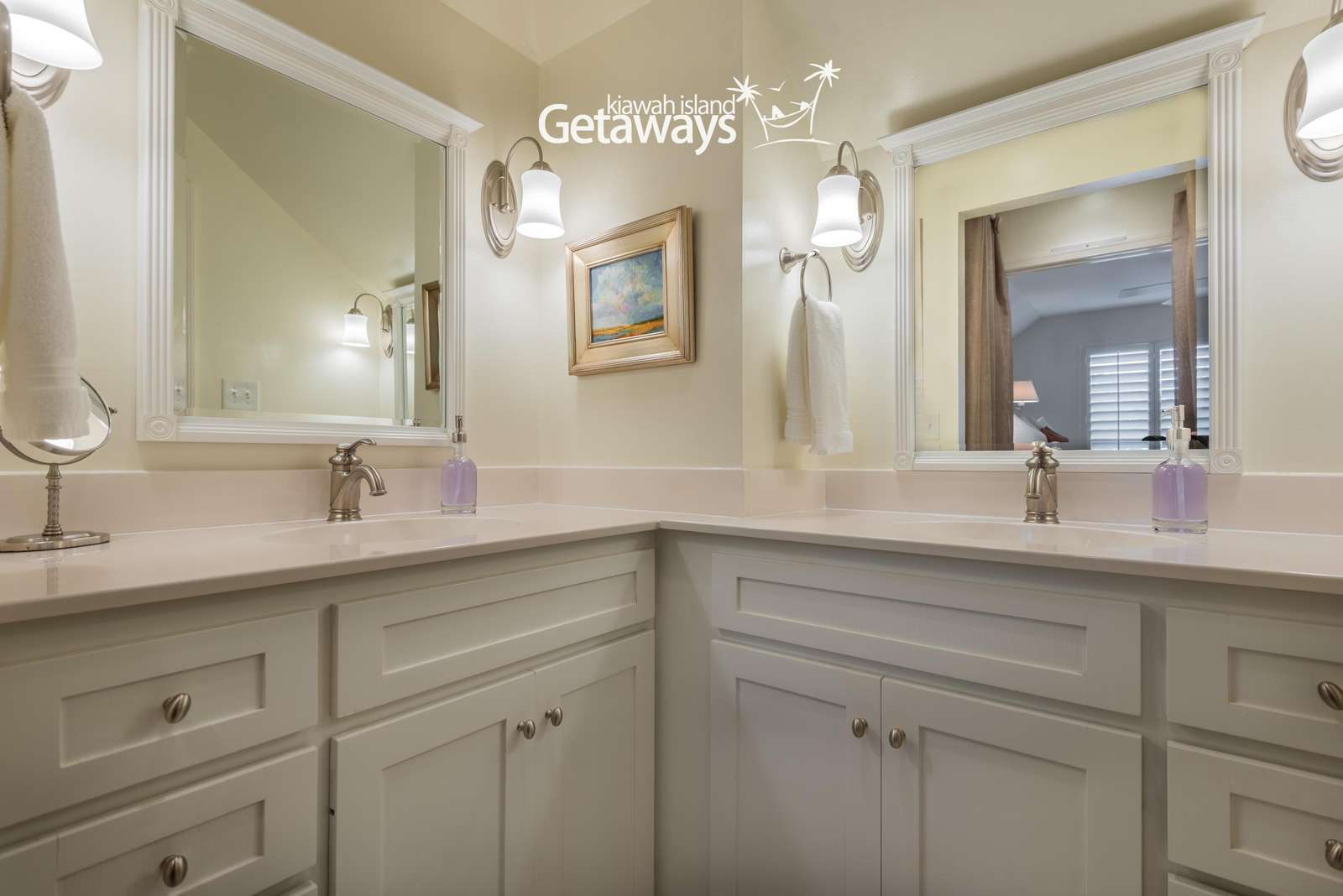 Master Bathroom, Double Vanity