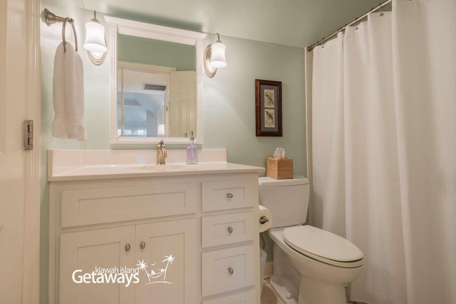 Twin/Hall Bathroom