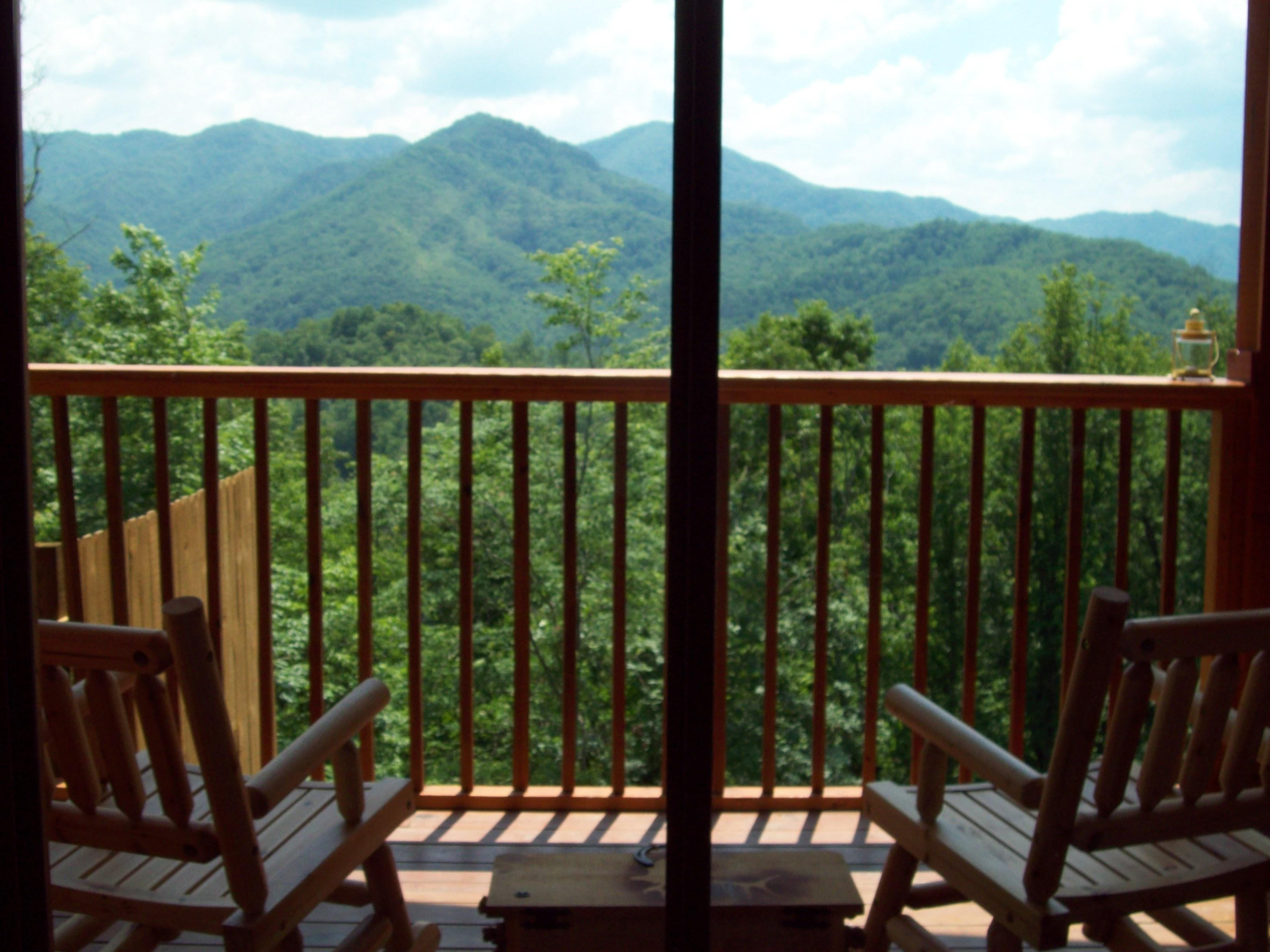 Pull up a Chair, Enjoy the Mountain Views by Day, Starry Skies by Night...