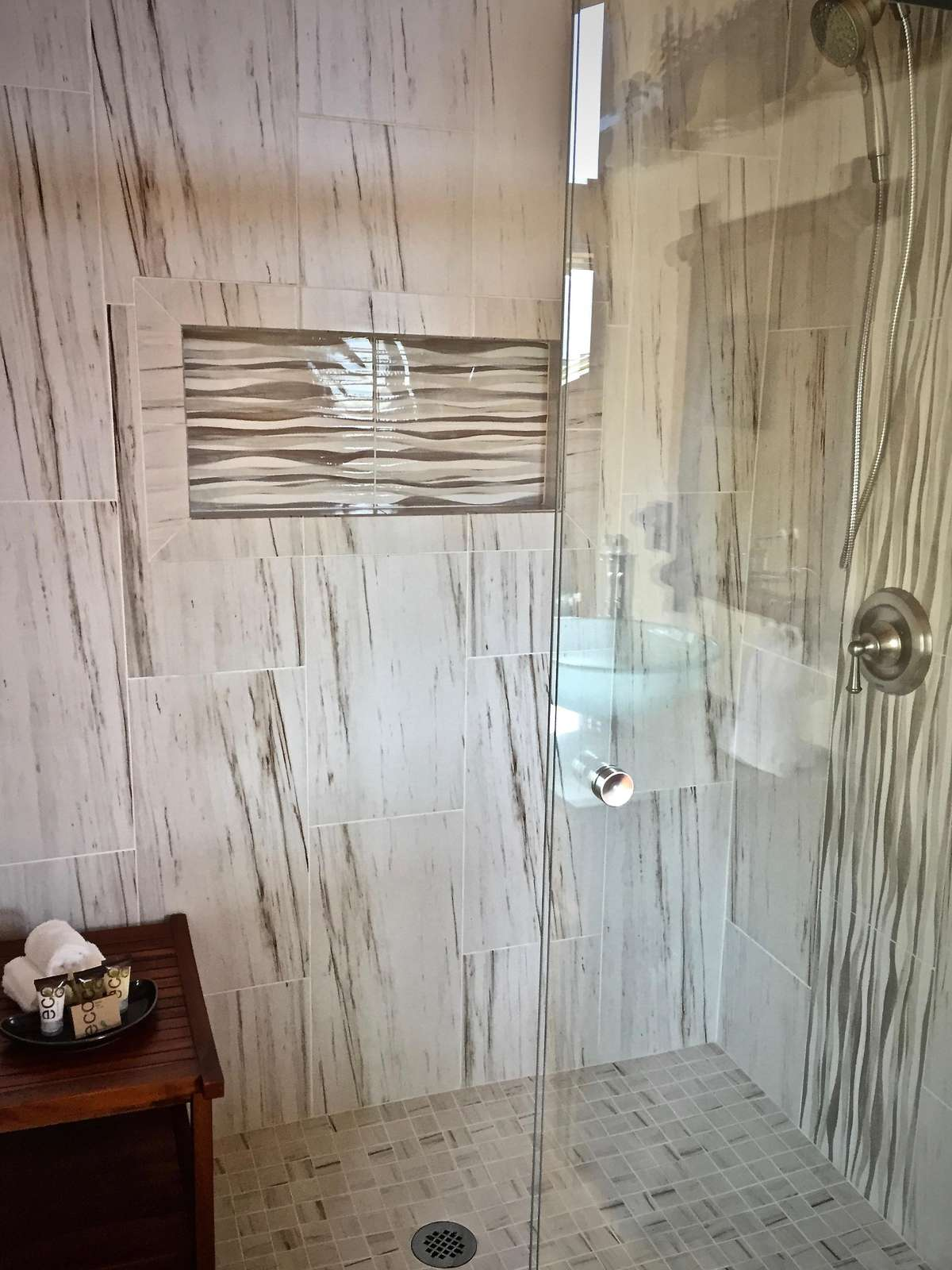 Upstairs Shower is newly Remodeled and Upgraded and (2019)