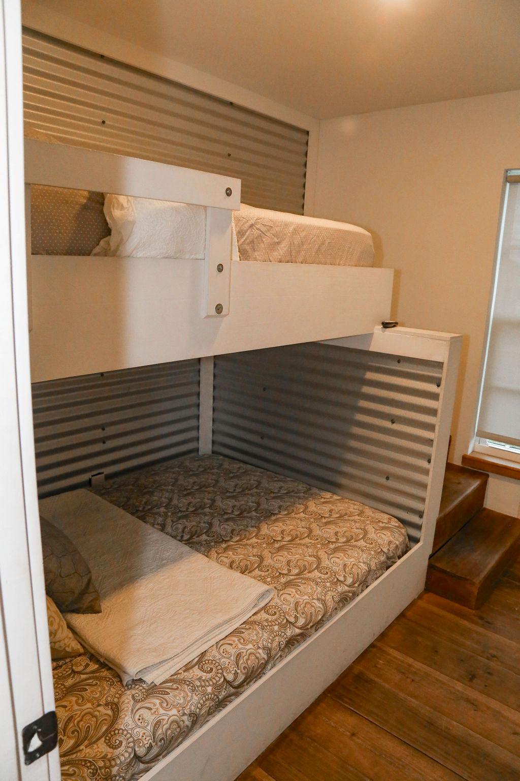 BR # 3 has full bed/twin bunk, flat screen