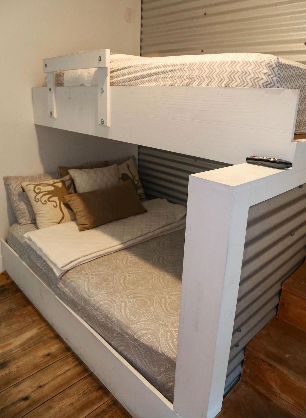 Bedroom #2 has full bed/twin bunk