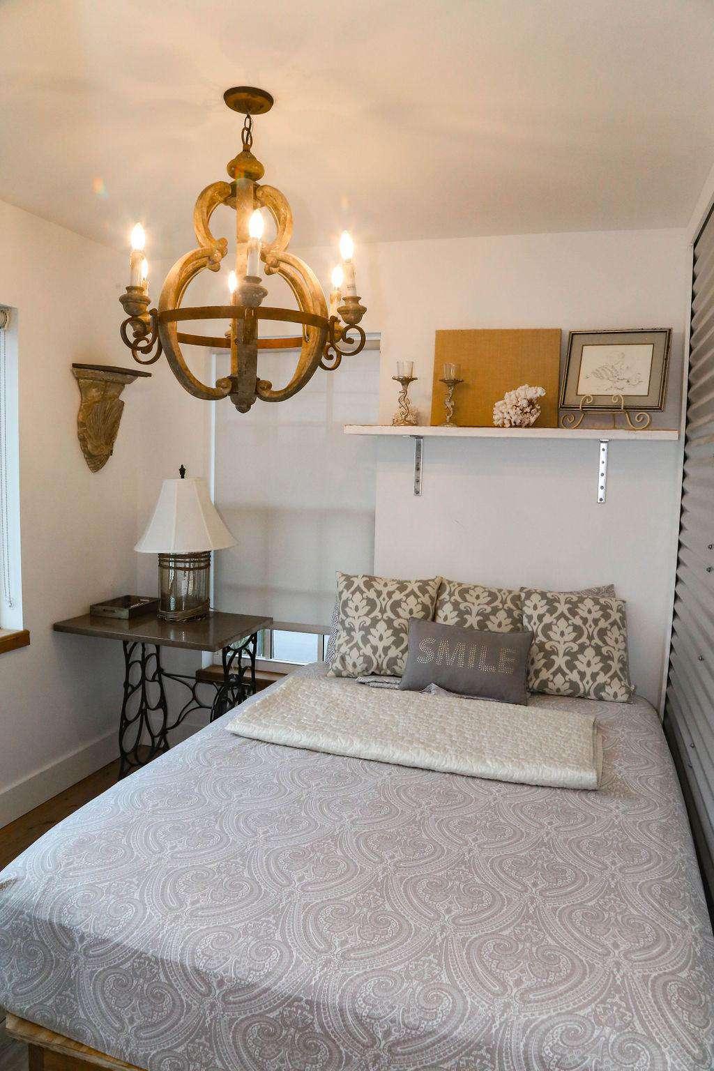 Bedroom # 3 has queen bed/ocean view