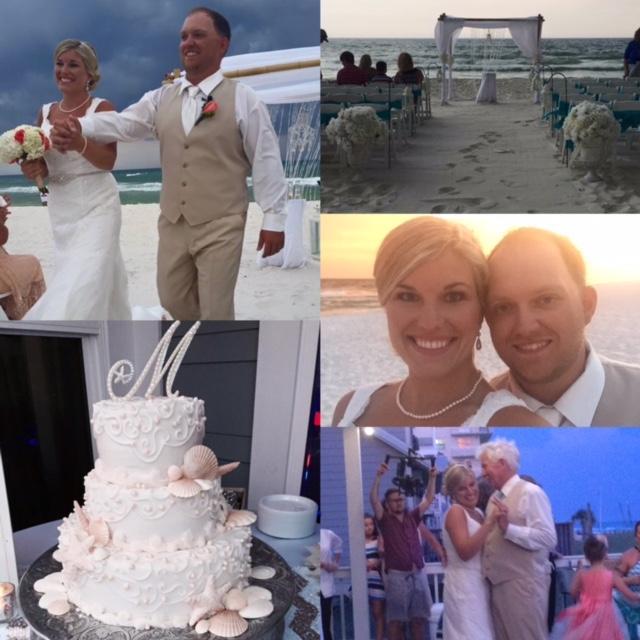 Wedding & Reception Gulf front