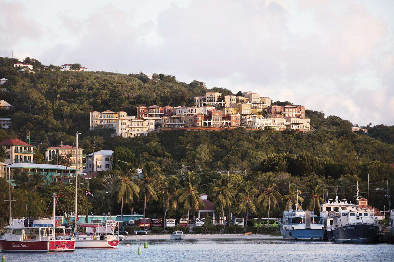 Sirenusa Residences from Cruz Bay
