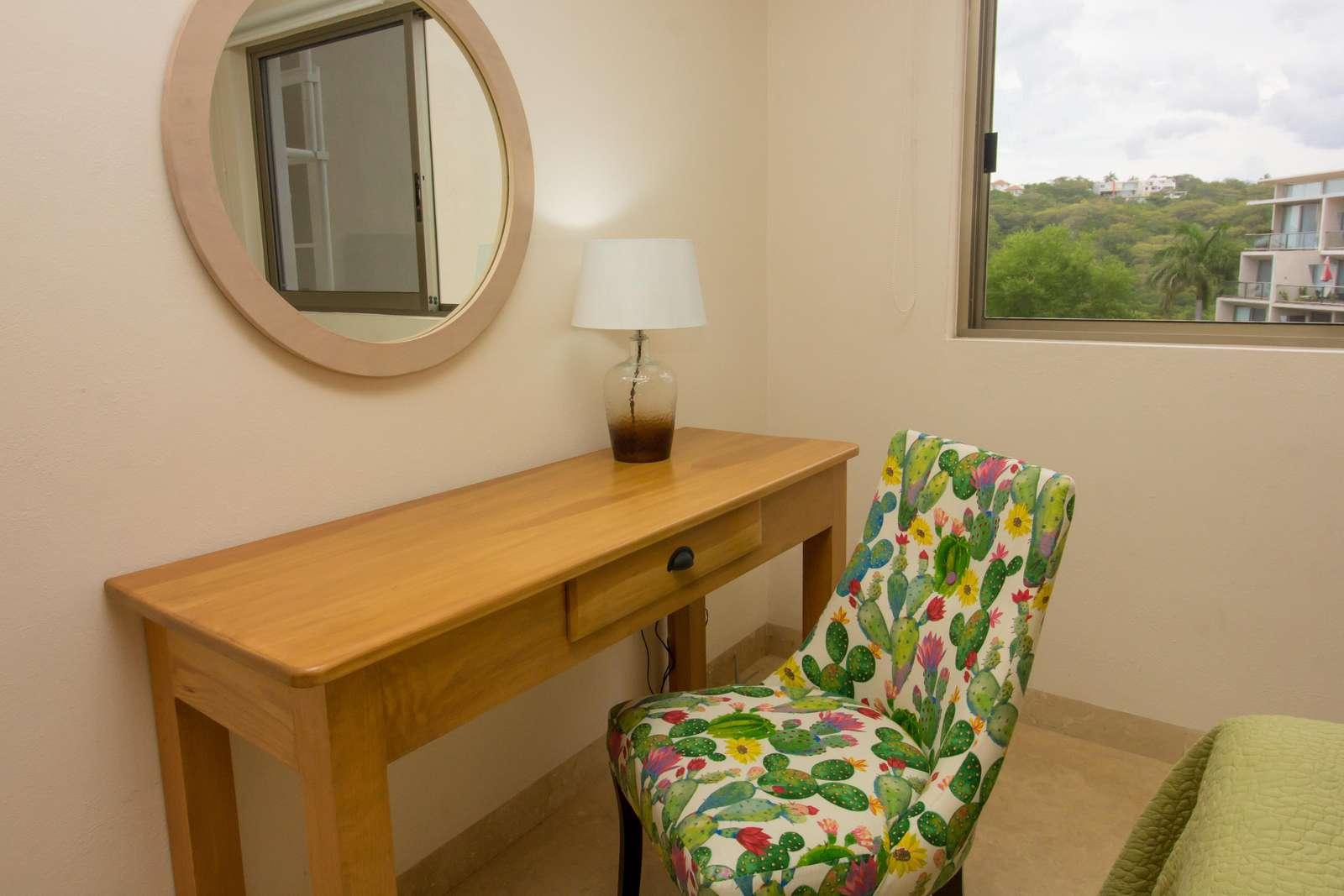 Second bedroom workspace