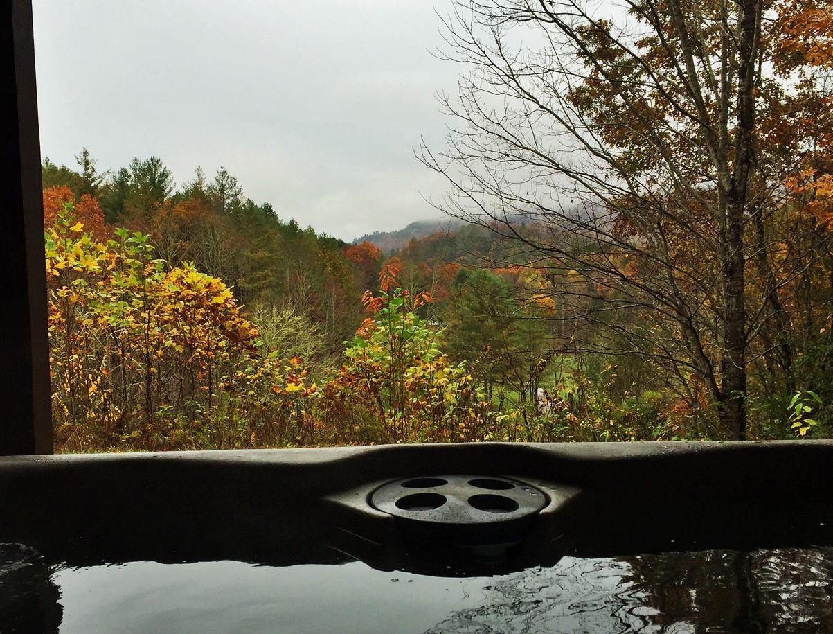 Lovely Fall Color, and a View that is Breath Taking!