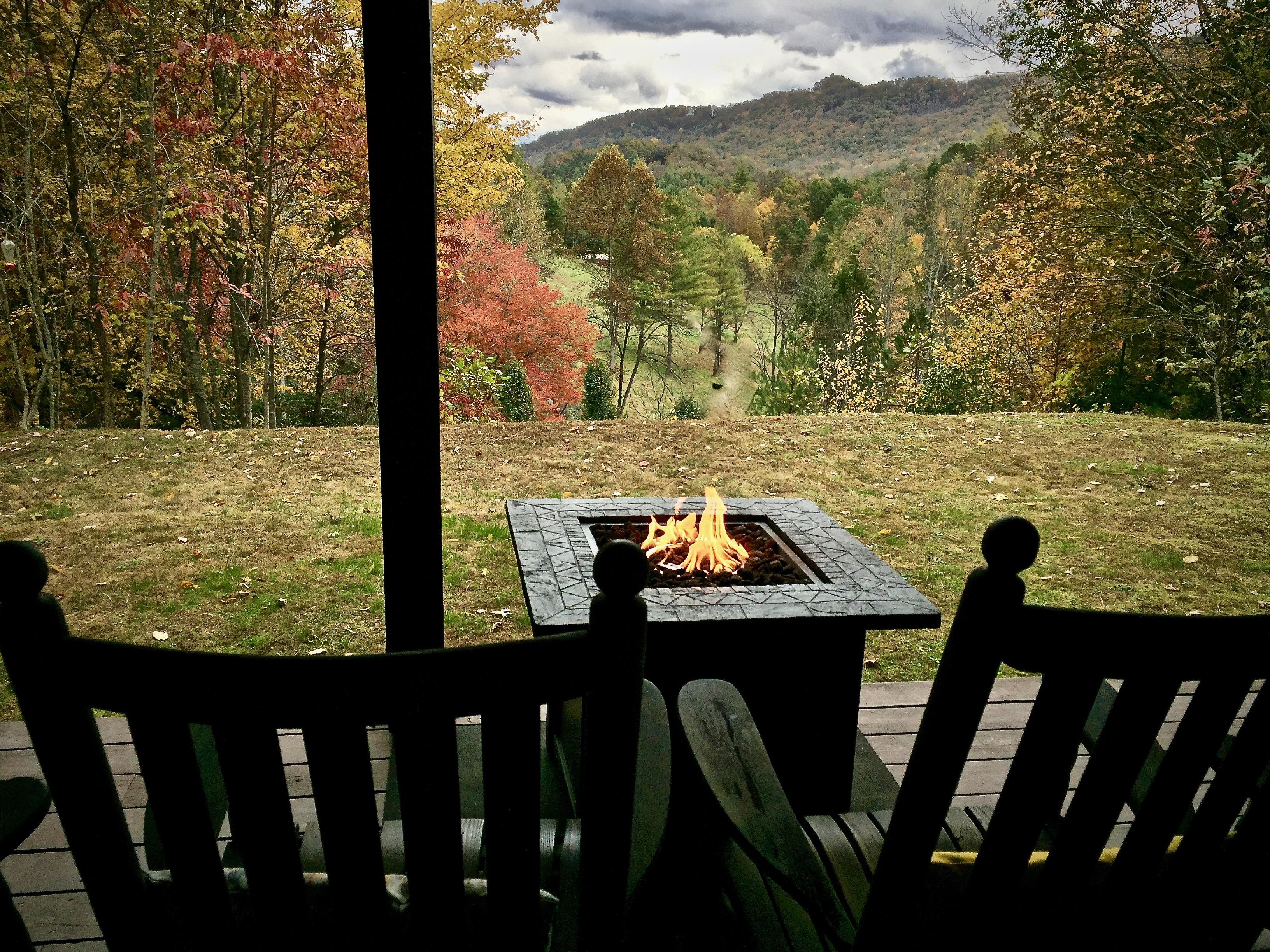 Relax by the Fire Pit and Enjoy the Views...
