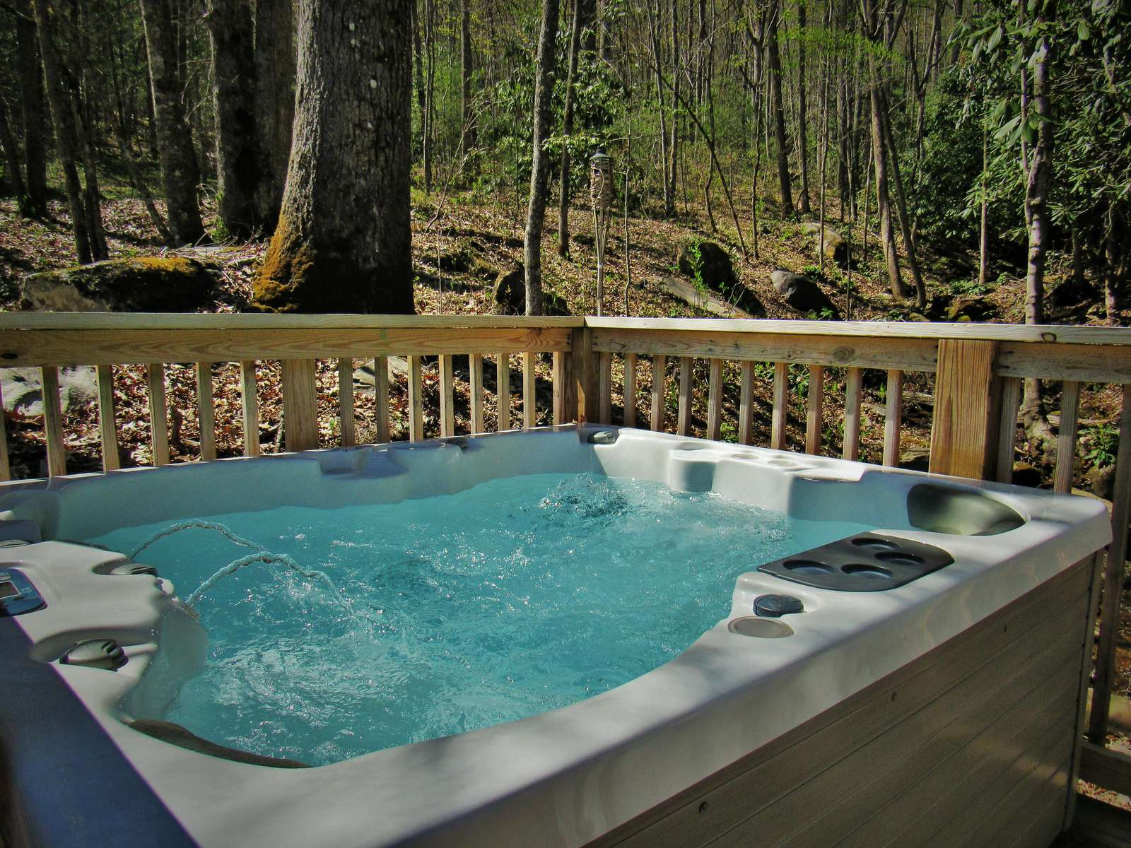 Therapeudic Private Hot Tub