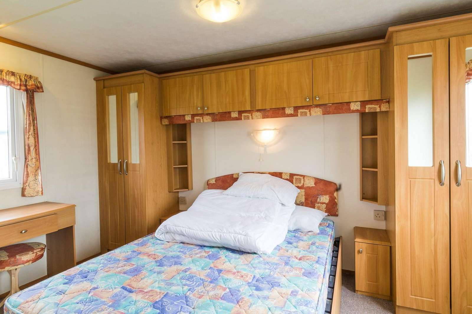 Come and stay in this private accommodation at California Cliffs Holiday Park.