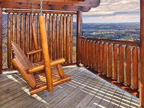 Swing on top deck