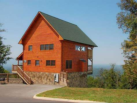 Live With Passion (2 BR) | Outrageous Cabins | Sevierville TN Vacation  Rentals