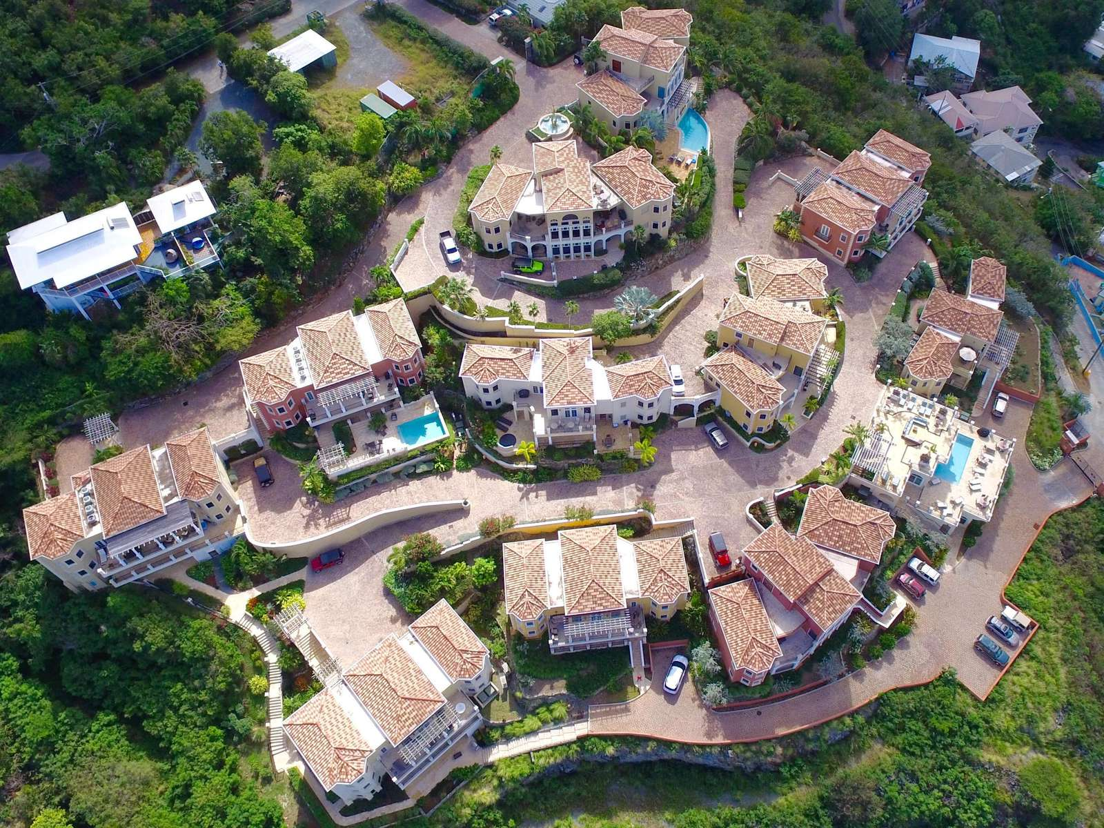 Overhead of Sirenusa Residences