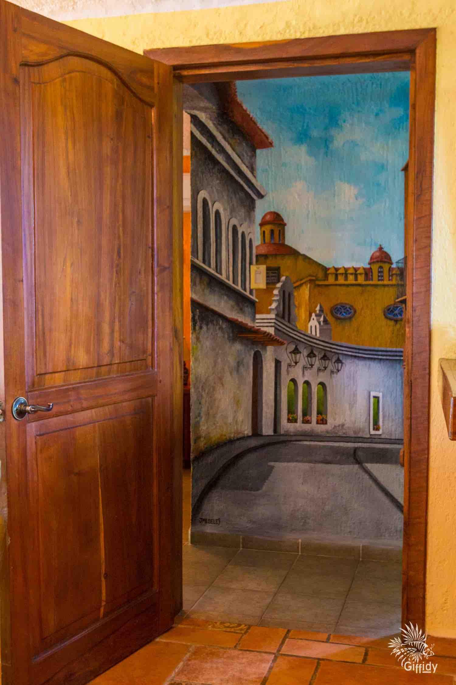 Door and Mural