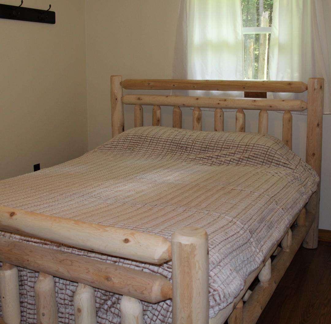 Queen Bed - Master Bedroom